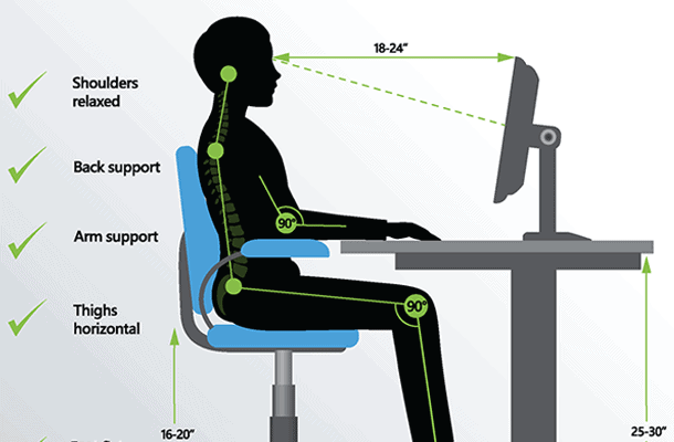 Ergonomic assessment 2D Diagram