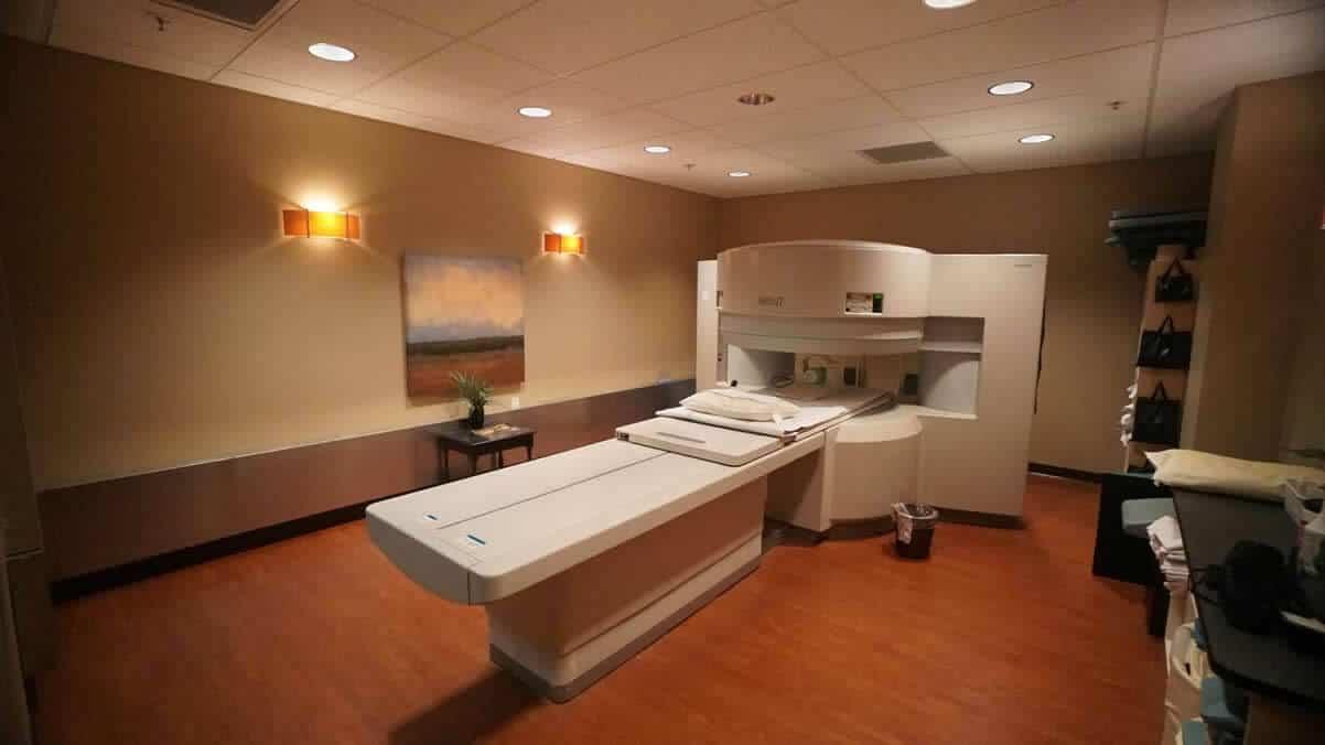 White Open MRI Equipment